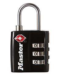 MASTER LOCK 4680DNKL Zinc Alloy Padlock Padlock 3-Digit Digital Key Lock TSA Locking Bags Locker Lockable Padlock Dail Lock Password Lock