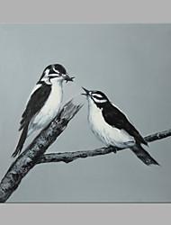 Peint à la main Animal Abstrait Un Panneau Imprimé For Décoration d'intérieur