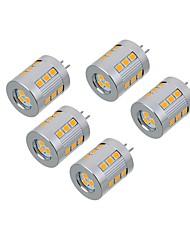 5.5W Luci LED Bi-pin T 21 SMD 2835 550-650 lm Bianco caldo Luce fredda V 5 pezzi