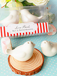 DIY Party Gifts Ceramic Salt & Pepper Shakers Wedding Favor Beter Gifts® 10 x 4 x 5 cm/box