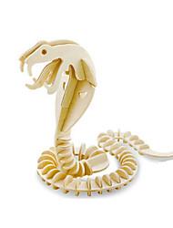 Puzzles Kit de Bricolage Puzzles 3D Blocs de Construction Jouets DIY  Serpent