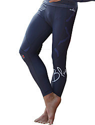 SABOLAY Men's Dive Skins Wetsuit Pants Boating Fast Dry Ultraviolet Resistant Polyester Elastane Terylene Diving Suit Rash Guard Bottoms-