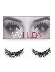 VVHUDA Mink False Eyelashes Thick Crisscross Long Natural 3D Soft Cross Lashes Fake Eye Voluminous Makeup Fur Handmade Bridget