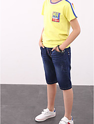 Boys' Solid Jeans Spring Fall