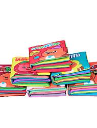 Cartões Educativos Quadrada Tecido 1-3 anos 3-6 anos de idade