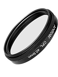 Andoer 40.5mm Digital Slim CPL Circular Polarizer Polarizing Glass Filter for Canon Nikon Sony DSLR Camera Lens
