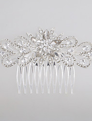 The Heart Shape Flower Comb