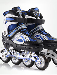 Kid's Adults' 70mm Inline Skates Breathable Adjustable ABEC-7 - White/Green/Blue
