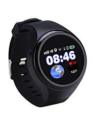 Kid's Smart Watch Fashion Watch Digital Water Resistant / Water Proof Rubber Band Black Blue Pink