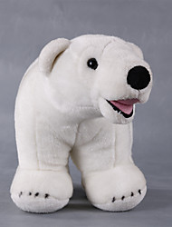 Stuffed Toys Toys Bear Polar bear Animals Simulation Kid Pieces