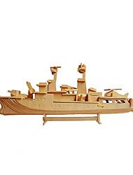 Пазлы 3D пазлы Строительные блоки Игрушки своими руками Военные корабли