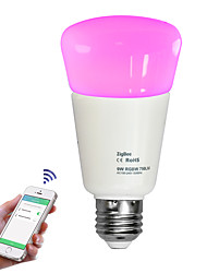 Jiawen Zigbee 9W Light Smart Bulbwireless bulb APP control bulb work with Zigbee hub control by phone