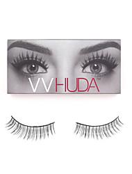 VVHUDA LASHES High Quality False Eyelashes Mink Natural Hair Black Handmade Eye Daily Makeup Long Light Extensions Cocojo