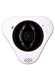 IP Camera Panoramic 360 WIFI Security CCTV Indoor Microphone Memory Card Slot Storage