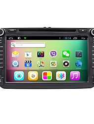 Rungrace 8 pulgadas android6.0 coche reproductor de DVD de apoyo hd1080p espejo enlace tpms ada gps para skoda octavia vw golf / polo