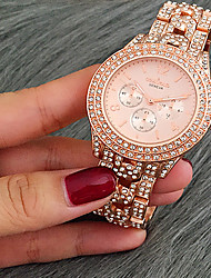 Fashion Watch Women Luxury New Quartz Gifts For Girl Full Stainless Steel Rhinestone wrist watches