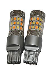 L'alta luminosità luminosa del 2pcs ha condotto la luce del segnale di girata del LED con 2 colori