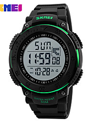 SKMEI Chronograph BackLight Watch 50M Waterproof Fashion Military Digital Wristwatches Relogio Masculino Sports Watches