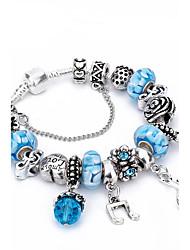 Women's Charm Bracelet Strand Bracelet Crystal Rhinestone Natural Friendship Fashion Gift Boxes & Bags Luxury Crystal Zinc Rhinestones