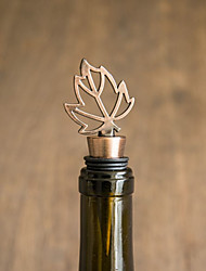 Practical Leaf Design Bottle Favor - 1Piece/Set - Wine Bottle Stoppers Classic Theme Non-personalised Silver