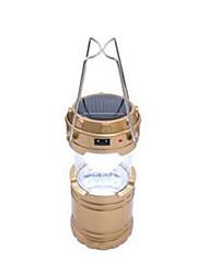 Laternen & Zeltlichter LED Lumen Manuell Modus Ministil Rückseitige Hülle für Camping / Wandern / Erkundungen Jagd Gold Schwarz