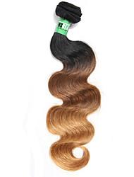 Âmbar Cabelo Brasileiro Onda de Corpo 18 Meses 1 Peça tece cabelo
