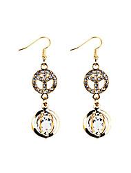 Women's Drop Earrings RhinestoneBasic Unique Design Tassels Movie Jewelry Euramerican Handmade Vintage Bohemian Personalized