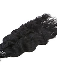 Neitsi 20'' 50g/lot 1g/s Natural Wave Fusion U Tip Human Hair Extensions Curly Pre bonded Hair