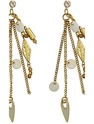Women's Drop EarringsBasic Circular Unique Design Dangling Style Pendant Circle Friendship Multi-ways Wear Cute Style Durable Euramerican
