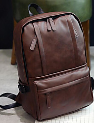 Unisex Bags All Seasons PU Sports & Leisure Bag with for Casual Brown Black