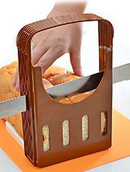 Toast Bread Slicer Baked Bread Tools Sliced Toast Holder Slicing Guide Cutter