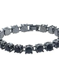 Femme Chaînes & Bracelets Bracelets de rive Strass Mode Turc Alliage de métal Résine Strass Métalique Bijoux PourSoirée Rendez-vous Plein