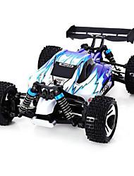 WL Toys A959 Гоночный багги 1:18 Коллекторный электромотор Машинка на радиоуправлении 45 2.4G1 x Руководство 1 х зарядное устройство 1 х