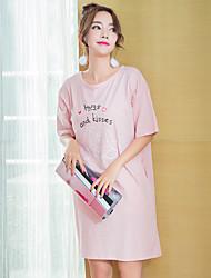 Chemises & Blouses Vêtement de nuit Femme,Sportif Imprimé Imprimé