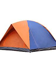 3-4 Pessoas Tenda Duplo Barraca de acampamento Tenda Dobrada Prova-de-Água Térmico/Quente Á Prova-de-Chuva Dobrável para CM Lona