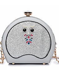 Women Shoulder Bag Other Leather Type All Seasons Casual Others Clasp Lock Blushing Pink Red Black Blue