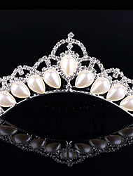 2017 New Fashion Imitation Pearl Bridal Wedding Hair Comb Accessories Leaf Bride Hair Combs Hairpin Jewelry for Women Gifts