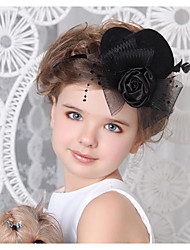 Bride's Headdress/Child Top Hat Hair Clip/Art Photo Shoot Photography Props