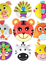 Kit de Bricolaje Maqueta de Papel Cuadrado 6 años de edad en adelante 3-6 años de edad
