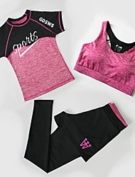 Female Running Clothing Suits Fitness Running & Yoga Spring Summer Sports Wear Yoga Running/Jogging Jogging Fitness