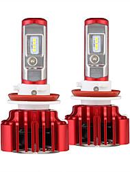 Nighteye h11 voiture led phare kit super brillant 8000lm 60w voiture ampoule ampoule de remplacement unique faisceau 6000k conduit voiture
