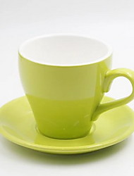 Tulip Fancy Cappuccino Continental Professional Caf Ceramic Coffee Cup Set 280ml