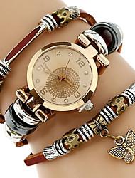 Mujer Niños Reloj de Moda Reloj Pulsera Reloj creativo único Reloj Casual Chino Cuarzo Resistente al Agua PU BandaCasual Creativo