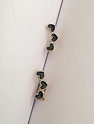 Women's Stud Earrings Fashion Euramerican Costume Jewelry Alloy Heart Jewelry For Daily