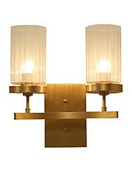 5 E26/E27 Stile Tiffany Semplice Tradizionale/Classico Paese Ottone caratteristica for Stile Mini Lampadina inclusa,Luce verso l'alto