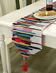 Colorful Fashion Modern Cotton And Linen Table Flag 30*160cm