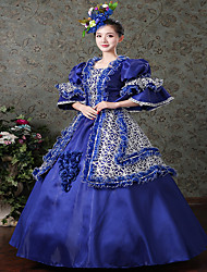 Steampunk® Victorian Renaissance Fair Dress Ball Gown Queen Theatrical Costume