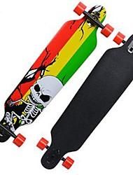32 polegadas Skates completos Longboards Skate Skates padrão Leve Bordo 608ZZ-Preto Amarelo Verde Padrão