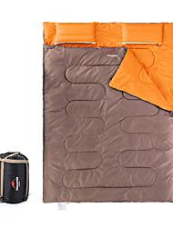 Sleeping Bag Rectangular Bag Double 5 Hollow CottonX145 Camping Keep Warm Portable