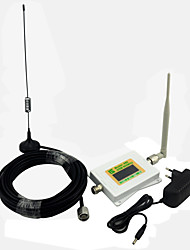 Mini écran intelligent gsm980 amplificateur de signal de téléphone mobile 2g gsm 900mhz répéteur de signal avec antenne whip antenne /